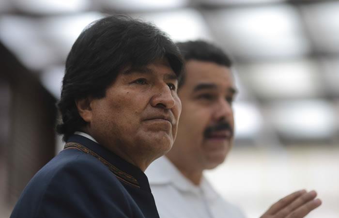 El presidente Morales repudia el atentado. Foto: ABI
