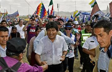 Evo Morales saluda a Bolivia en los 193 años de su independencia