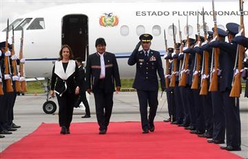 Presidente de Bolivia desea éxito a Iván Duque en Colombia
