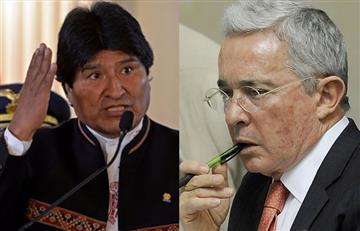 Evo Morales condenó declaraciones de Álvaro Uribe contra Venezuela