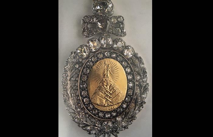 Medalla presidencial de Bolivia, una pieza de gran valor única en América