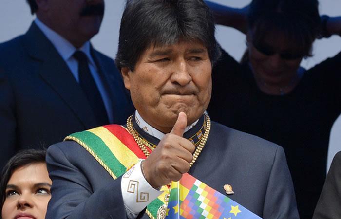 Reportan robo de la banda presidencial de Evo Morales. Foto: AFP