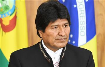 Evo pide castigo ejemplar a militares por robo de la medalla presidencial