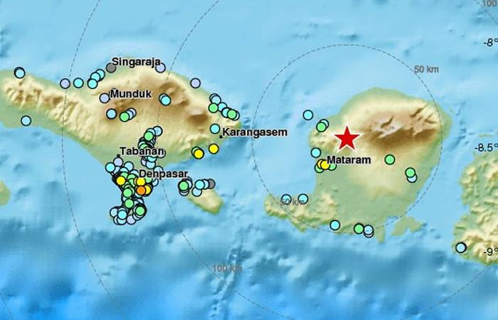 Nuevo sismo de 6.1 sacude Indonesia