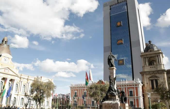 Evo Morales inaugura la Casa Grande del Pueblo así