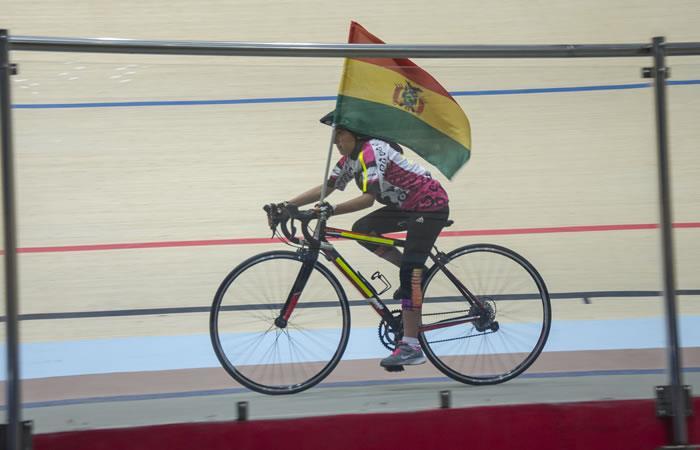 Bolivia es oro en prueba contrarreloj. Foto: ABI
