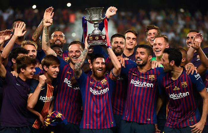 Barcelona gana la Supercopa de España tras vencer al Sevilla