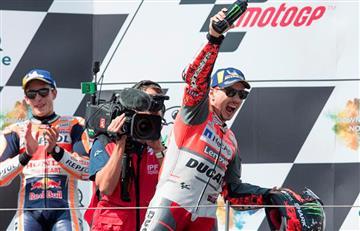 Jorge Lorenzo ganó el Gran Premio de Austria de MotoGP