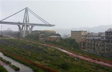 Italia: Por lo menos 22 muertos por derrumbe de puente en Génova