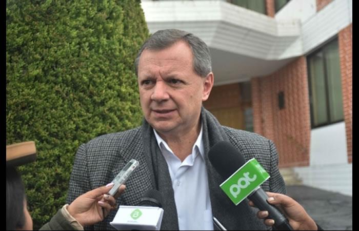 José Alberto 'Gringo' Gonzales renunció a su cargo. Foto: ABI