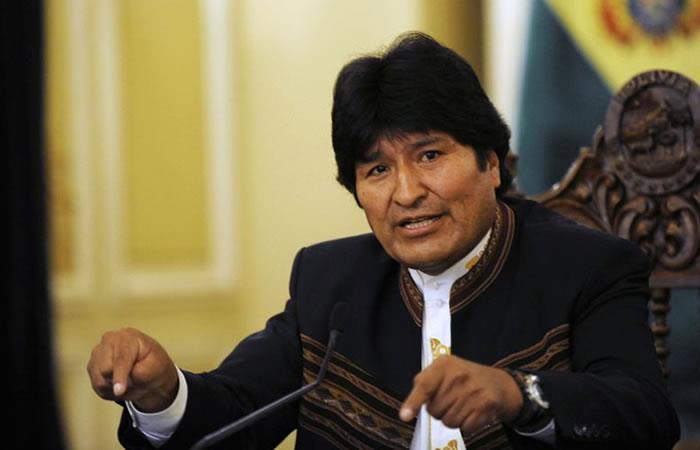 Evo Morales el presidente con más años de gobierno en Bolivia.Foto: AFP