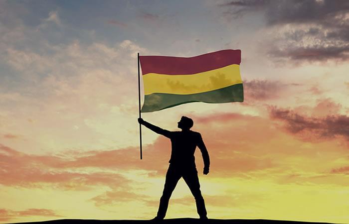 Día de la bandera boliviana. Foto: Shutterstock