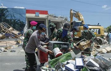 Indonesia: Dos fuertes sismos sacudieron la isla de Lombok