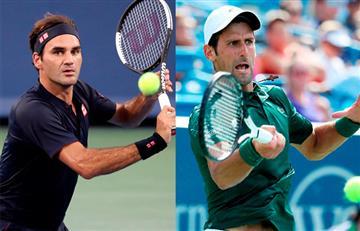 Federer contra Djokovic: duelo de titanes en final de Cincinnati