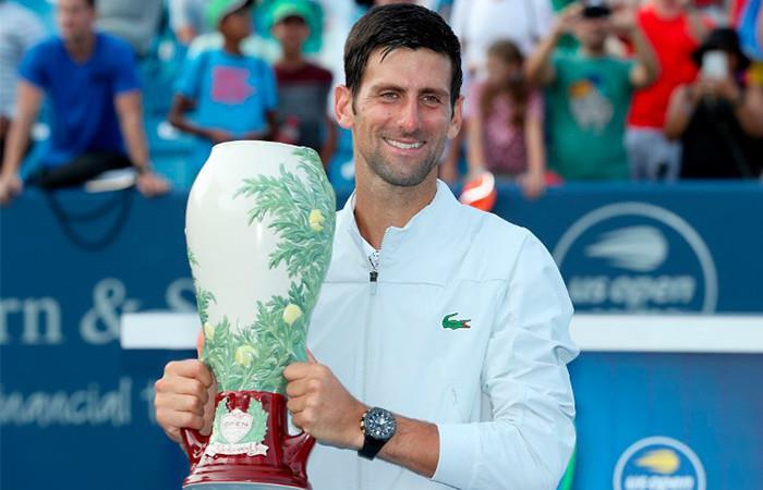 Djokovic asciendió en el ranking ATP dominado por Nadal