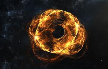 Detectan 'fantasmas' de agujeros negros de otros universos
