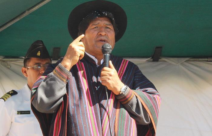 La oposición solo busca validar la polémica repostulación del presidente Evo Morales. Foto: EFE