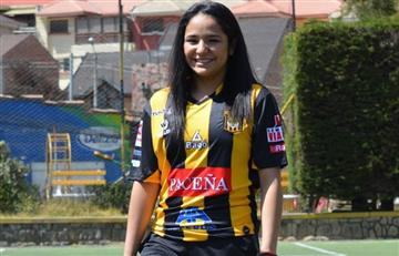 The Strongest pone rostro femenino al fútbol profesional