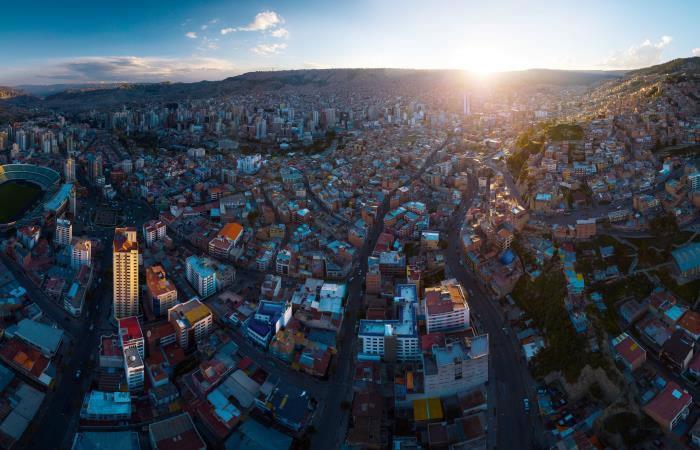 Inmuebles en La Paz Bolivia. Foto: shutterstock