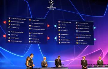 Así quedaron los grupos para la Champions League 2018-2019
