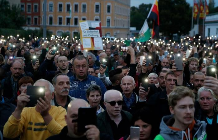 El grupo alemán de extrema derecha