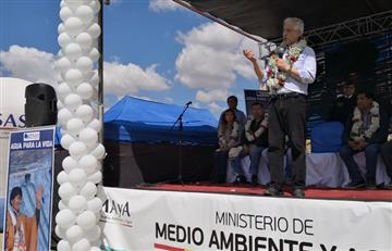 La Paz: Más de 900 familias beneficiadas con ampliación de acueducto