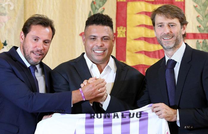 Ronaldo es el que manda en el Valladolid de España