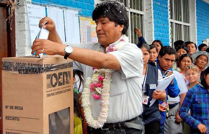 Evo Morales irá a primarias de 2019. Foto: AFP