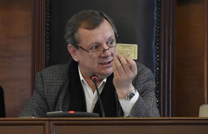 'Gringo Gonzales', nuevo embajador de Bolivia. Foto: ABI