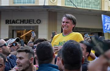 Candidato Bolsonaro fue apuñalado durante un acto de campaña