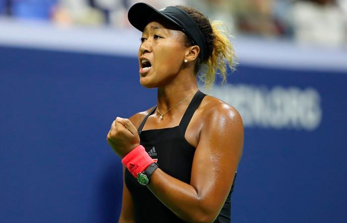 Naomi Osaka ganadora de US Open. Foto:AFP