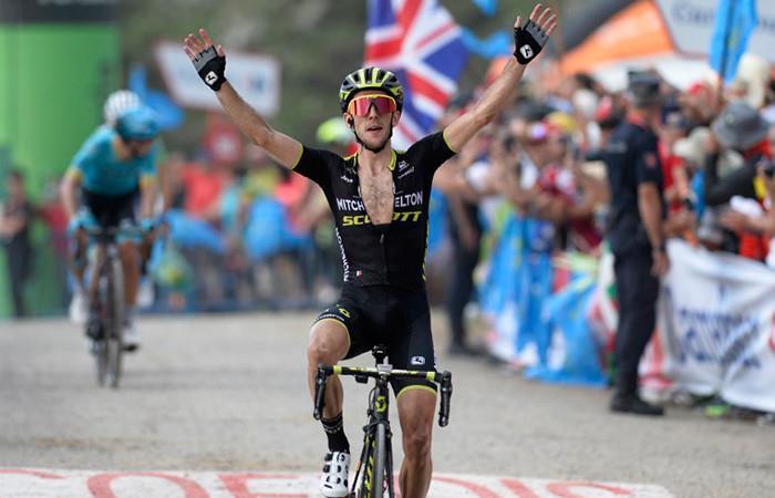 Vuelta España: Simon Yates ganó la etapa 14 y asumió el liderato