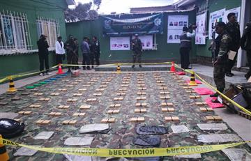 Interceptan 'narcocamión' e incauta droga en Cochabamba