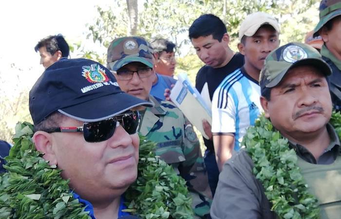 El ministro aseguró que hay grupos irregulares. Foto: ABI