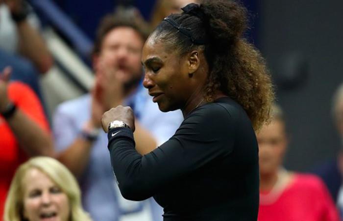 Serena multada con 17.000 dólares por polémico comportamiento en final de US Open