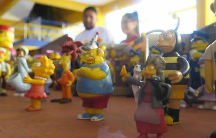 Personajes animados de la serie Los Simpson. Foto: EFE