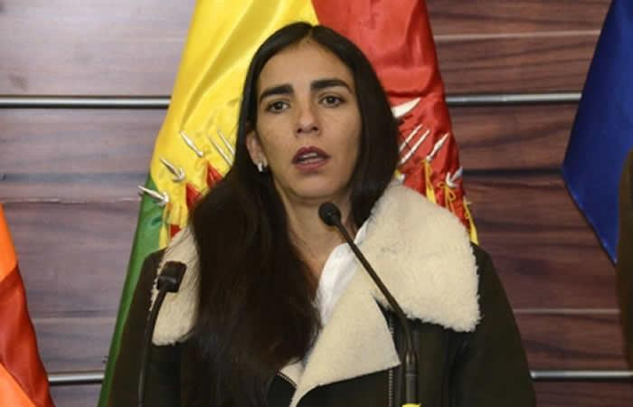 Gabriela Montaño. Foto: ABI