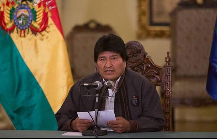 Evo Morales espera el fallo de La Haya. Foto: ABI