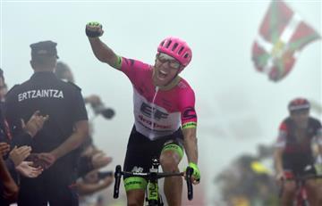 Vuelta a España: Michael Woods gana en Biskaia y 'Superman' asciende