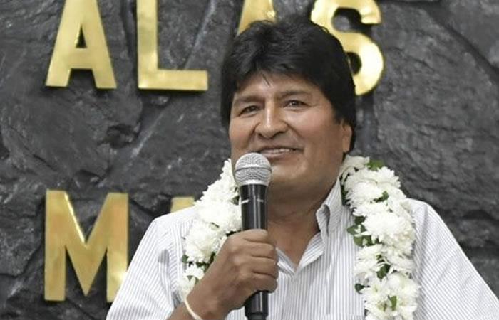 Evo Morales rinde homenaje a Cochabamba y así lo demuestra