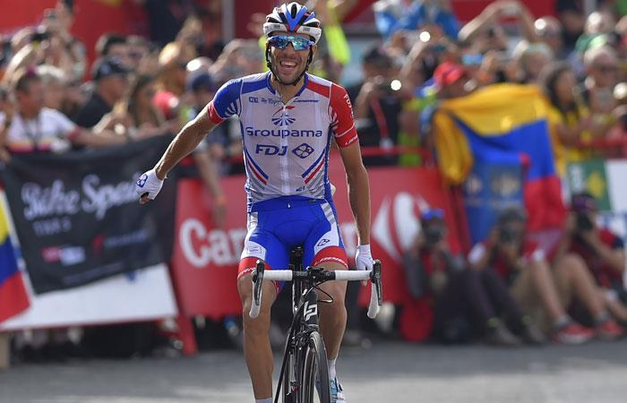 Vuelta a España: Thibaut Pinot gana la etapa y Yates cerca de ser campeón