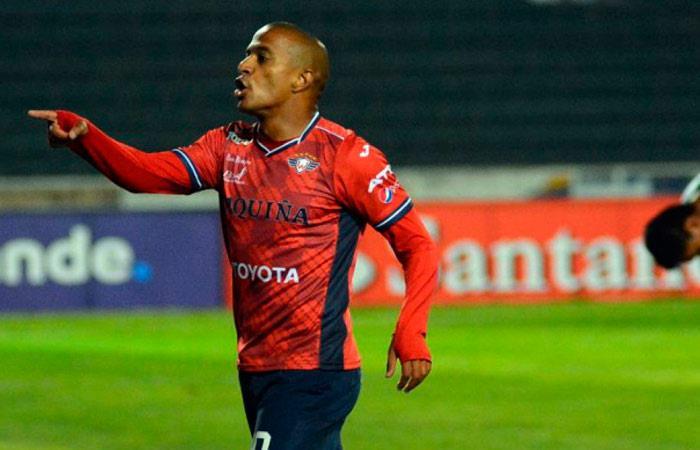 Serginho, jugador de Wilstermann. Foto: AFP