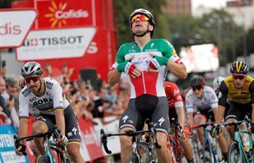 [VIDEO] Así ganó Elia Viviani la última etapa de la Vuelta a España