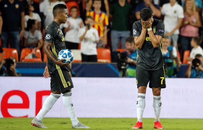Champions League: [VIDEO] Murillo hace expulsar a Cristiano en victoria de Juventus