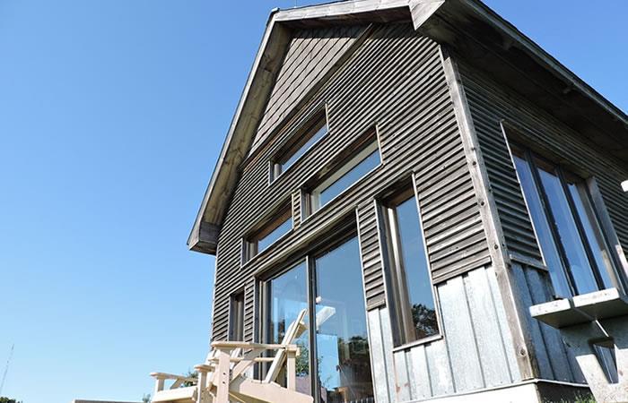 Casas con materiales reciclados. Foto: Pixabay