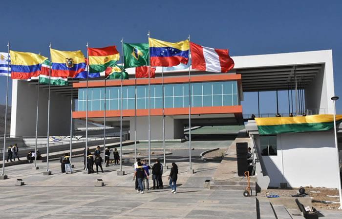 Sede de Unasur. Foto: EFE