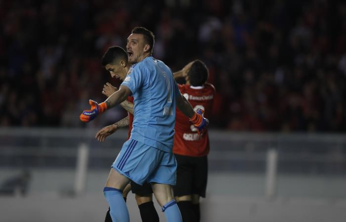 Copa Libertadores: [VIDEO] Este es el atajadón de Armani ante Independiente