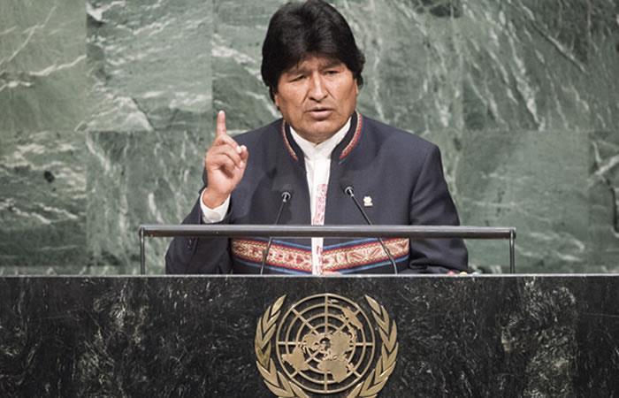 Evo Morales viaja a la ONU para reunirse con equipo marítimo