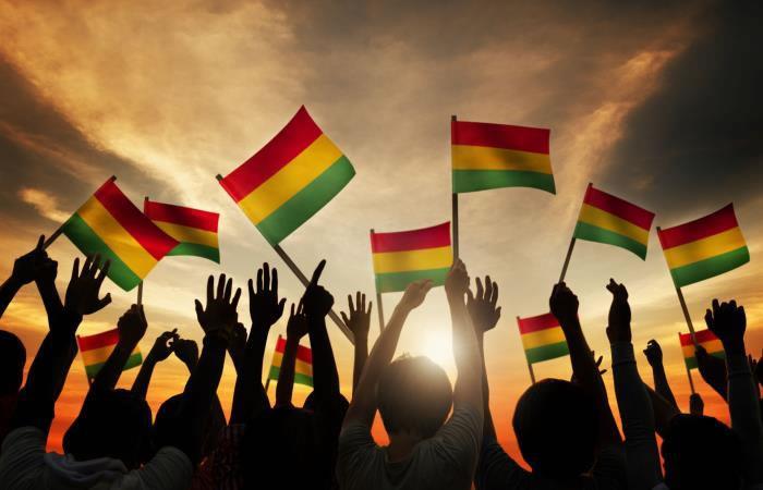 Día del estudiante boliviano. Foto: Shutter Stock