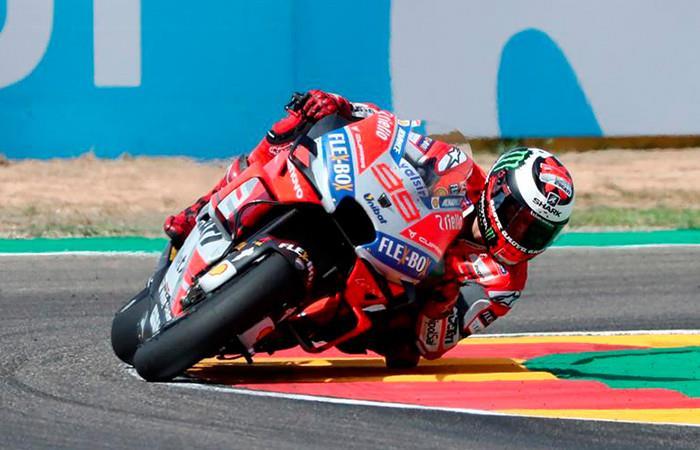 Jorge Lorenzo logró la pole  Moto GP.  Foto: EFE